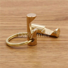 High-grade Solid Brass Bottle Opener with Key Ring Beer Bar Tool New Key chain