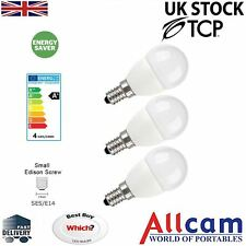 3Pack TCP 5W E14 LED Bulb Golf Ball/Mini Globe 330lm ~30W-40W Incandescent Light