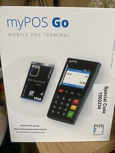 myPOS GO Payment Card Reader For Taxis / Black Cab
