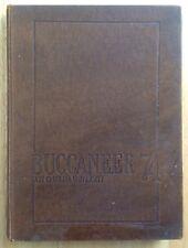 1974 EAST CAROLINA UNIVERSITY YEARBOOK, THE BUCCANEER, GREENVILLE, NC