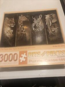 PRIDE of AFRICA 3000 Piece Puzzle Bits And Pieces Ruane Manning