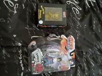 2002 Viz Media Toynami Omakase Naruto Shippuden Sasuke Uchiha and golden naruto