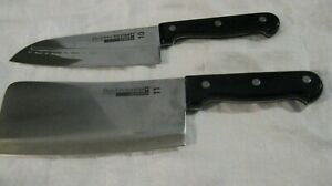 Ronco Showtime Six Star Cheese Knife #10 & Cleaver #11 Stainless Steel Brand New