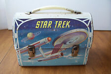 Vintage 1968 STAR TREK lunch box DOME By Aladdin NICE Condition ,  BRIGHT COLORS