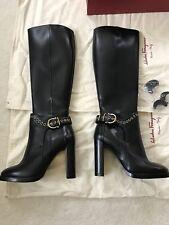 ferragamo women boots Sz 8.5 M