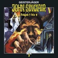 Preisalarm! JOHN SINCLAIR 3 CD Sammel Box Nr. 3 * Folgen 7 bis 9 * NEU & OVP