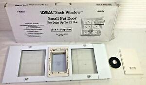 Ideal Pet Aluminum Sash Cat Flap Pet Door