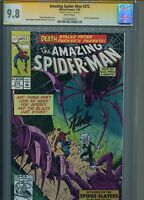 Amazing Spider-Man #372 CGC SS 9.8 Signed by Stan Lee Black Cat appearance