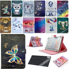 For Various Amazon Kindle Fire 7 inch Leather Stand Cover Case+Wireless Keyboard