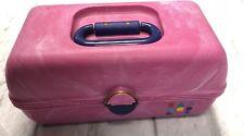 Caboodles Make Up Case Travel Organizer Pink Purple Vintage 2620