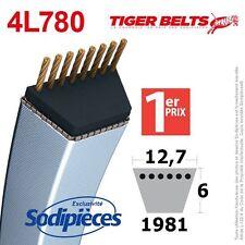 Courroie tondeuse 4L780 Tiger Belts. 12,7 mm x 1981 m