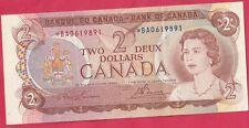 1974 Bank Of Canada 2 Dollar Replacement Note- Bouey/ Lawson- *B/A Prefix