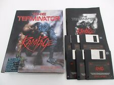 THE TERMINATOR RAMPAGE - IBM PC 3.5 - Jeu PC BIG BOX Complet FR