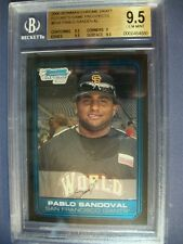 PABLO SANDOVAL 2006 Bowman Chrome Draft FG Prospects #6 BGS GEM MINT 9.5 RC