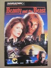 Beauty and the Beast #1 Innovation 1993 Linda Hamilton Based on TV Show 9.6 NM+