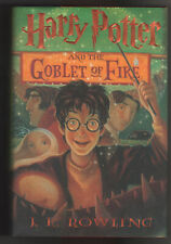 Harry Potter and the Goblet of Fire J. K. Rowling Scholastic 2000 HC