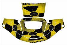 3m Speedglas 9000 9002 X Xf Auto Sw Welding Helmet Decal Sticker Bio Hazard Yell