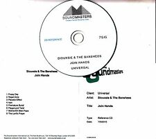 SIOUXSIE & THE BANSHEES Join Hands UK 8-track studio reference CD-R