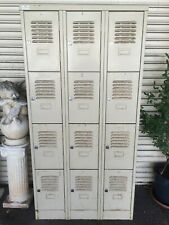 Vintage Industrial 12 Door Storage Locker