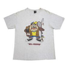 Tasmanian Devil Well Equipped Short Sleeve Tshirt   Vintage Looney Tunes Taz