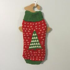 MEDIUM dog SWEATER NWT Christmas TREE MD World Market NEW knit crochet ugly M