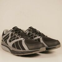 MBT Mens Jengo Sport Dynamic Gray/Black Walking Shoes Size 12-12.5