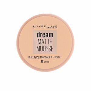Maybelline Dream Matte Mousse Mattifying Foundation Primer Makeup Cameo 20