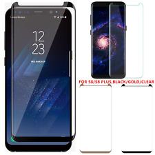 3-12 Lot Premium Tempered Glass Screen Protector Samsung Galaxy S8/S8 Plus BGC