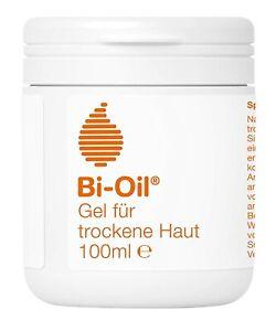 Bi-Oil Gel 100ml Spezielle Pflege für trockene Haut Gesicht & Körper Narben