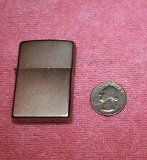 Vintage Zippo Lighter Silver Tone Bradford PA Made in USA Sparks A 13