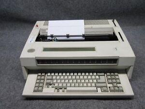 Vintage IBM Wheelwriter 30 Series II Typewriter 6787 *Tested Working*