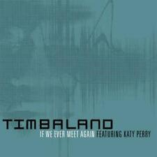 Timbaland: If We Ever Meet Again PROMO w/ Artwork MUSIC AUDIO CD Katy Perry 3trk