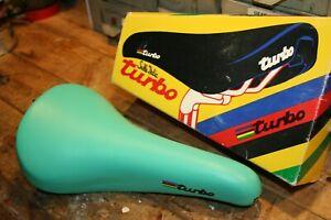 Celeste Selle Italia TURBO Bicycle Saddle Bianchi Bike Seat Classic Racing Bike