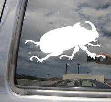 Rhinoceros Beetle - Scarab Car Laptop Bumper Window Vinyl Decal Sticker 01477