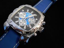 Rare Mint INVICTA 3175 Lupah Espadon Chrono Swiss Quartz Watch and Box