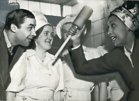 Josephine Baker avec Jo Bouillon, ca.1947, vintage silver print Vintage silver p