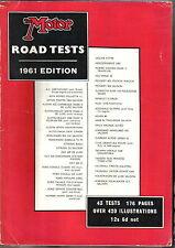 Motor Road Test Annual 1961 AC Alfa Austin Borgward Fiat Ford  Rover Triumph VW+