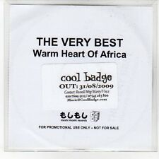 (EQ46) The Very Best, Warm Heart Of Africa - 2009 DJ CD