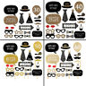 Party Props Photo Booth Funny Birthday Special for Dress Up Accessories - 20pcs