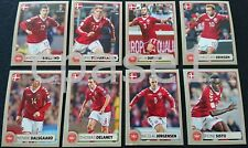 Panini World Cup 2018 STICKERS - McDonalds Denmark COMPLETE set M1-M8