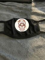 San Francisco 49ers Forty Niners Face Mask Candy Skull. New In Plastic!