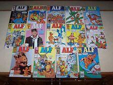 1988 Marvel Comics ALF #1 2 3 4 5 6 7 8 9 10 11 12 13 14 full run; tv tie-in