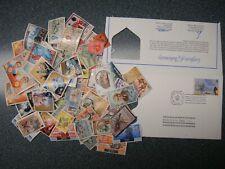 Lot - 108 Stamps - 4 Caribbean Countries, Haiti, Jamaica, Br. Virgin Is, Tri.