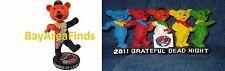 2 San Francisco Giants Grateful Dead Dancing Bears Statue & Bear Bobblehead SGA