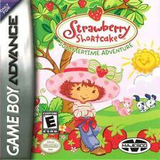 Gameboy Advance Strawberry Shortcake Summer Time Adventures en con embalaje original Top puerperio