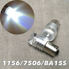 1156 P21W 7506 BA15S Reverse back up light 6000K White 5W Cree LED bulb FOR BENZ