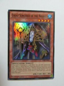 Yugioh Great Sorcerer of the Nekroz THSF-EN011 1st Edition Super Rare
