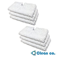 6 Shark Steam Pocket Mop Pads Standard Replacement S3501 S3601 S3901 P119W PAD
