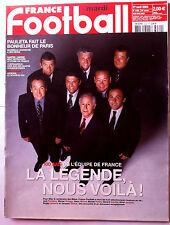 FRANCE FOOTBALL 27/04/2004; 100 ans de l'Equipe de France, la Légende