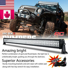 50Inch CREE LED Work Light Bar 700W Spot Flood Combo Driving Lamps JEEP Truck 52
